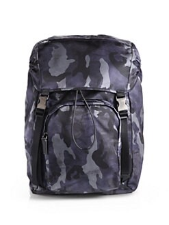 Prada - Zaino Camo Backpack