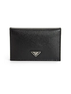 Prada - Vertical Bi-color Card Case