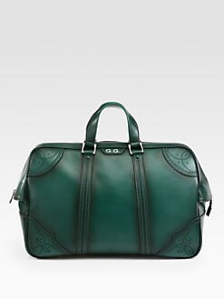 Gucci - Goldmark Leather Carry-On Duffel