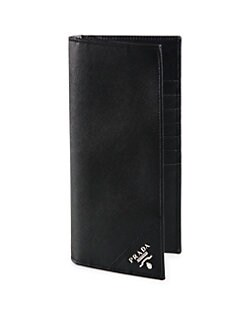 Prada - Leather Travel Wallet