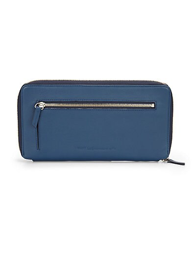 91bed6faa WANT Les Essentiels de la Vie Liberty Travel Zip Wallet Blue on ...