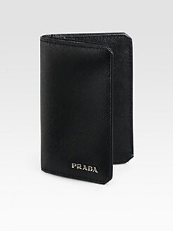 Prada - Saffiano Leather Credit Card Case