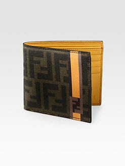 Fendi - Zucca Leather Wallet
