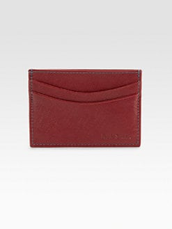 Paul Smith - Saffiano Leather Credit Card Case