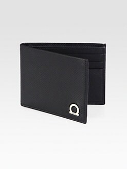 Salvatore Ferragamo - Perforated Leather Wallet