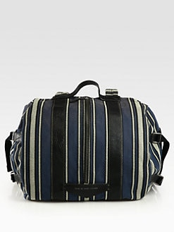 Marc by Marc Jacobs - Sickle & Stripes Barrel Backpack/Small