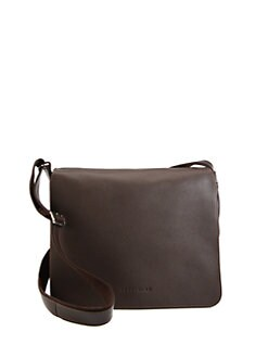 Longchamp - Veau Foulonne Leather Messenger