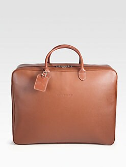 Longchamp - Veau Foulonne Leather Travel Bag