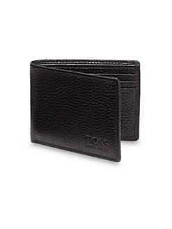 BOSS Black - Beckley Leather Wallet