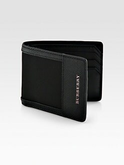Burberry - London Nylon Hipfold Wallet
