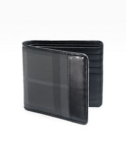 Burberry - Check Billfold Wallet