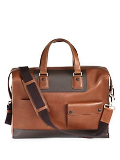 Bally - Leather Weekend Duffel