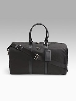 Prada - Nylon Duffel Bag
