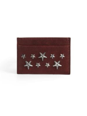 Stars Leather Card Case