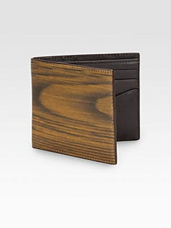Jack Spade - Woodgrain Bill Holder