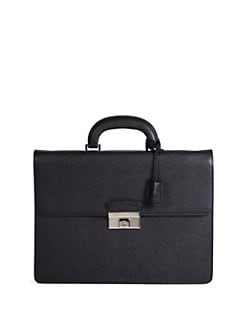 Bally - Grain Caviar Briefcase