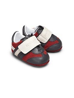 Dolce & Gabbana - Infant's Suede & Leather Sneakers