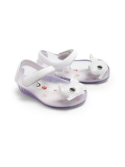 Mini Melissa - Infant's & Toddler's Ultragirl Jelly Cat Mary Jane Flats