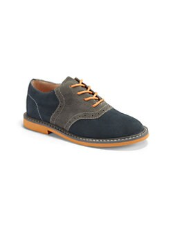 Cole Haan - Toddler's & Boy's Suede Saddle Shoes