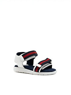 Gucci - Infant's & Toddler's Signature Web Sandals