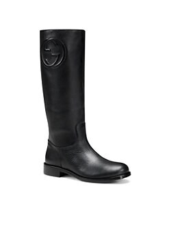 Gucci - Girl's Leather Boots