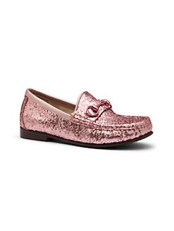 Gucci - Girl's Glitter Loafers