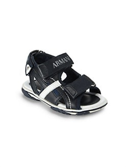 Armani Junior - Infant's & Toddler's Grip-Tape Strap Sandals