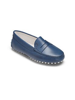 Tod's - Kid's Leather Driver Penny Loafers