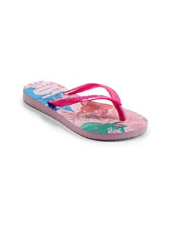 Havaianas - Toddler's & Girl's Princess Sleeping Beauty Slim Flip-Flops