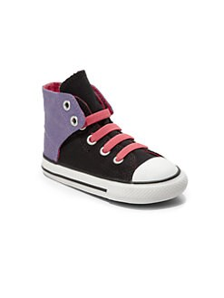 Converse - Infant's & Toddler's Colorblock High-Top Sneakers