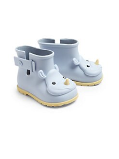 Mini Melissa - Infant & Toddler Girl's Rhino Rain Boots