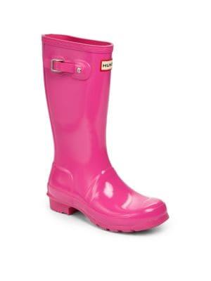 Girl's High Gloss Original Tall Rain Boots