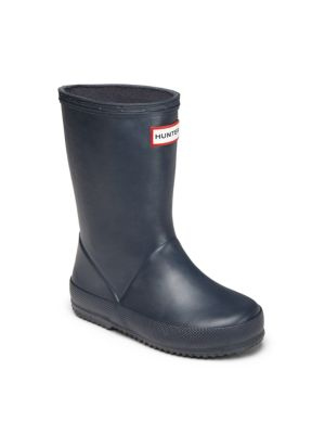 Infant's, Toddler's & Kid's First Original Rubber Rain Boots