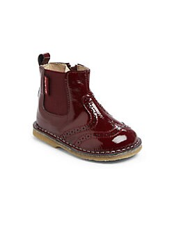 Naturino - Infant's & Toddler's Patent Leather Wingtip Boots