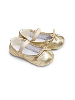 Bloch - Infant's Angelica Metallic Leather Ballet Flats