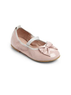 Bloch - Infant's & Toddler's Abigail Patent Leather Ballerina Flats