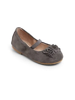 Bloch - Infant's & Toddler's Odilia Suede Ballet Flats