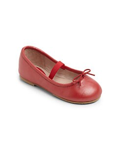 Bloch - Infant's & Toddler's Arabella Pearlized Leather Ballet Flats