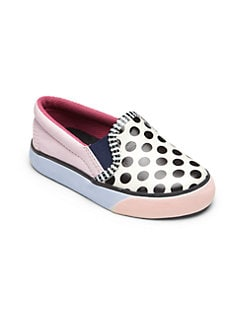 Sophia Webster - Intant's, Toddler's & Little Kid's Dotted Slip-On Sneakers