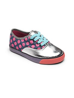 Sophia Webster - Infant's, Toddler's & Little Kid's Dotted Lace-Up Sneakers