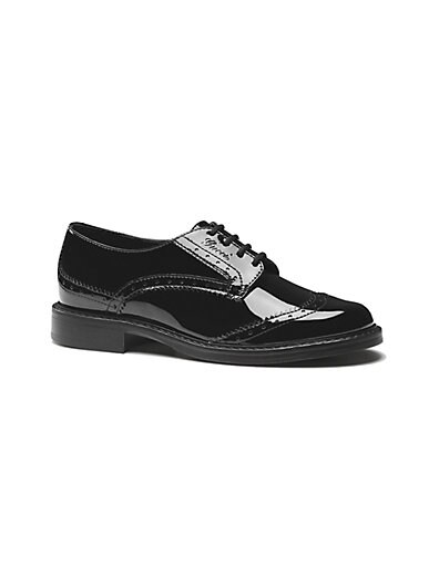 Boy's Patent Leather Brogue Shoes