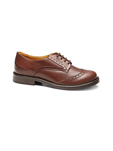 Boy's Leather Brogue Shoes