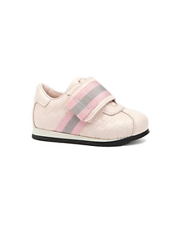Gucci - Infant's & Toddler Girl's Microguccisma Leather Sneakers
