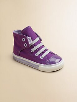 Converse - Infant's & Toddler Girl's Chuck Taylor Simple Slip-On Foxings Sneakers