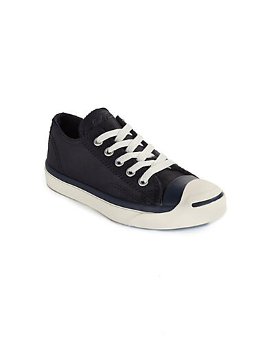 Boy's Jack Purcell Leather Oxford Sneakers