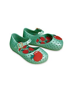Mini Melissa - Infant's & Toddler's Furadinha Mary Janes