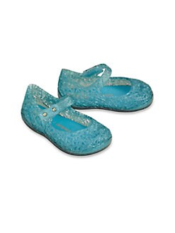 Mini Melissa - Infant's & Toddler's Campana Zig Zag Mary Janes