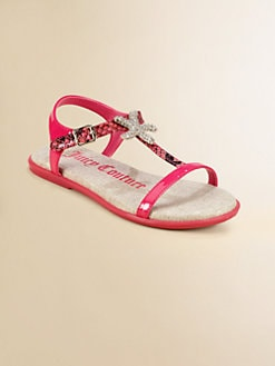 Juicy Couture - Girl's Ada Patent Leather Sandals
