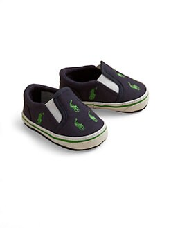 Ralph Lauren - Infant's Canvas Slip-On Sneakers