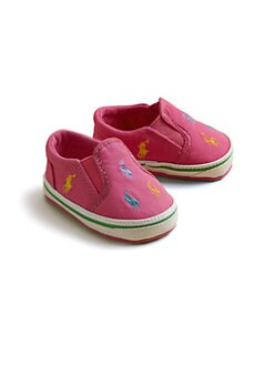 Ralph Lauren - Infant's Belmont Canvas Slip-On Sneakers